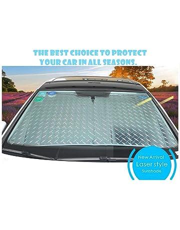 CDGroup Parasol Completo para Parabrisas Salpicadero, Excelente Protector para Coche contra UV Rayos Calor Manteniendo
