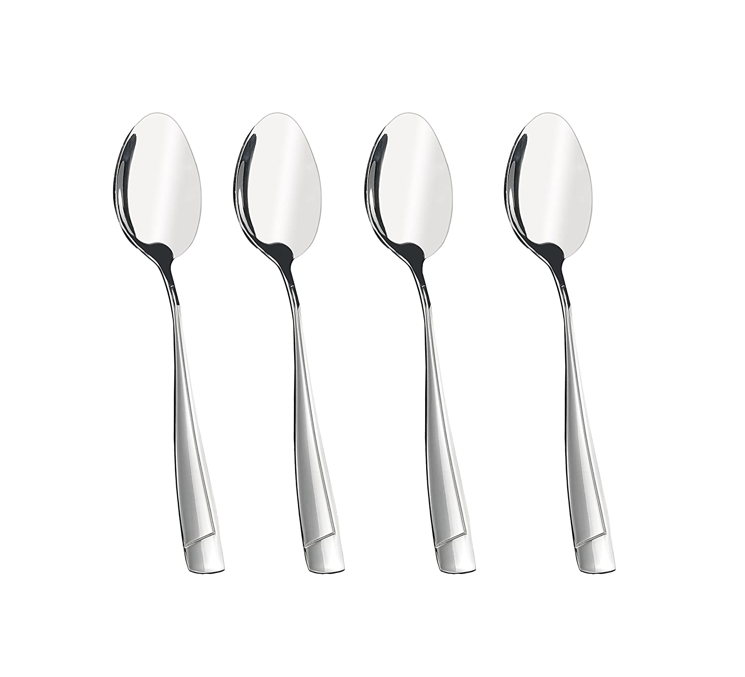 Cand 16 Pieces Stainless Steel Dessert Spoons, 6.69-Inch Candseason