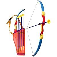 Ondis24 Pfeil und Bogen Set für Kinder mit Köcher zum Bogenschießen inkl. 4 Pfeile 76 cm