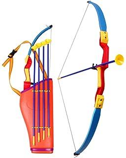 FLITZEBOGEN Kleiner L/öwe und Bogenset mit 4 Pfeilen Pfeil