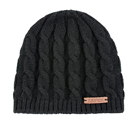 Amazon.com  zefen Baby Boys Beanie Hat Cap Knitted Braid Cascade ... 52c6fb1aa96