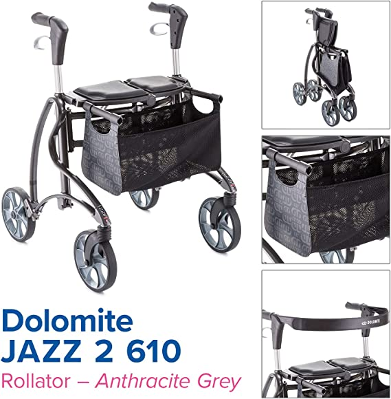 Amazon.com: Invacare Dolomite Jazz 2 610 - Andador, color ...