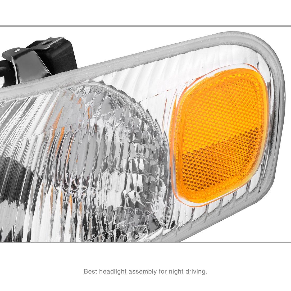 For Toyota Corolla 1998 2000 Headlight Assembly Headlamps