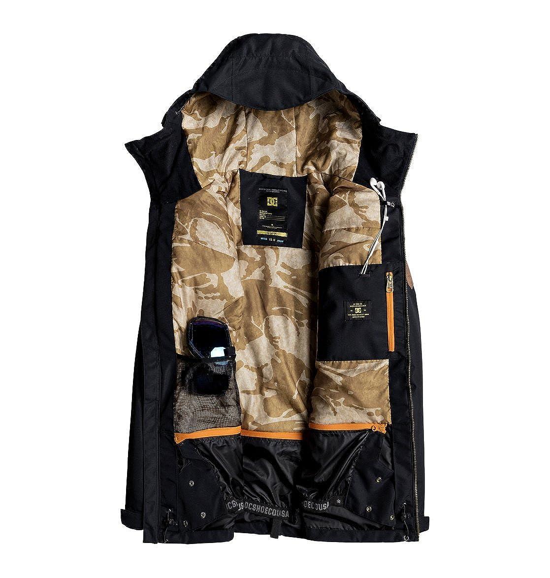 Amazon.com: DC Mens Summit Snowboard Jacket: Clothing