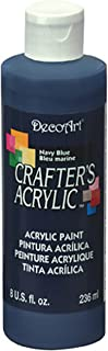 product image for DecoArt DCA29-9 Crafters Acrylic, 8-Ounce, Navy Blue