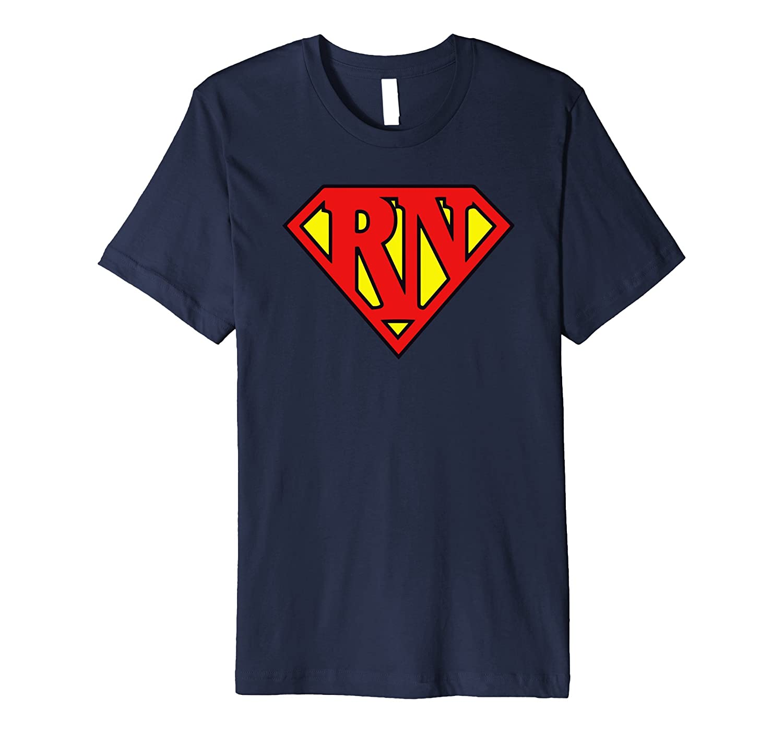 Super Nurse RN T-shirt Smooth & Slim-fit T-shirt-TH