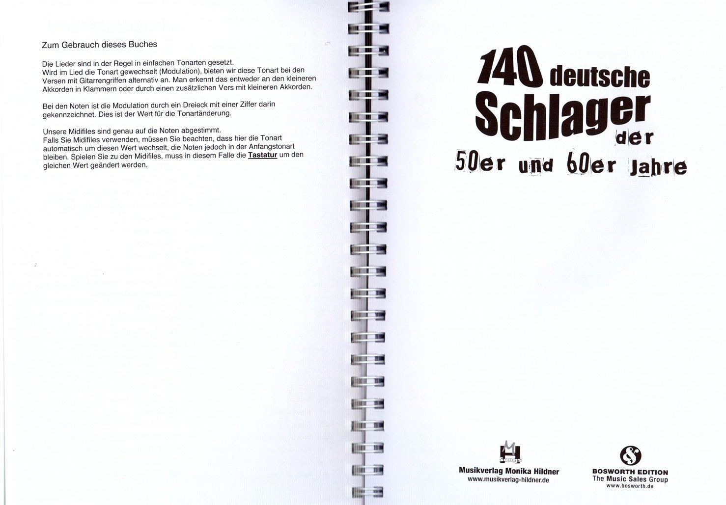 140 deutsche schlager der 50er und 60er jahre aus einer zeit