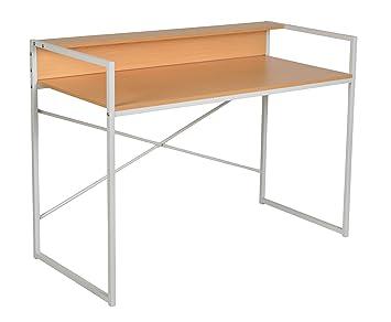 Schreibtisch design holz  ts-ideen Design Holz Schreibtisch Computer Arbeitstisch Konsole ...
