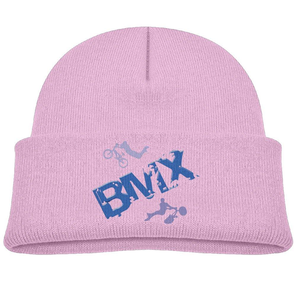 Runningway Kids BMX Riders Bike Extreme Sports Knit Warm Beanie Hat Skull Cap