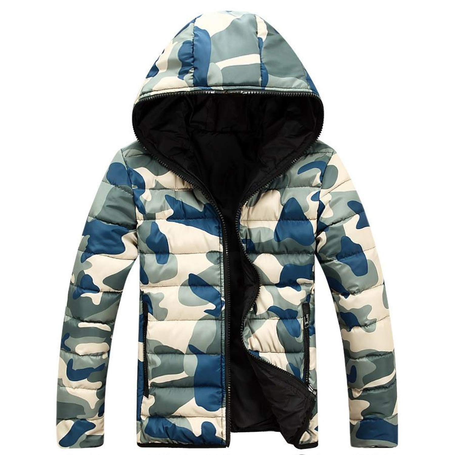Amazon.com: 87 clothes Winter Jacket Mens Camouflage Soft ...