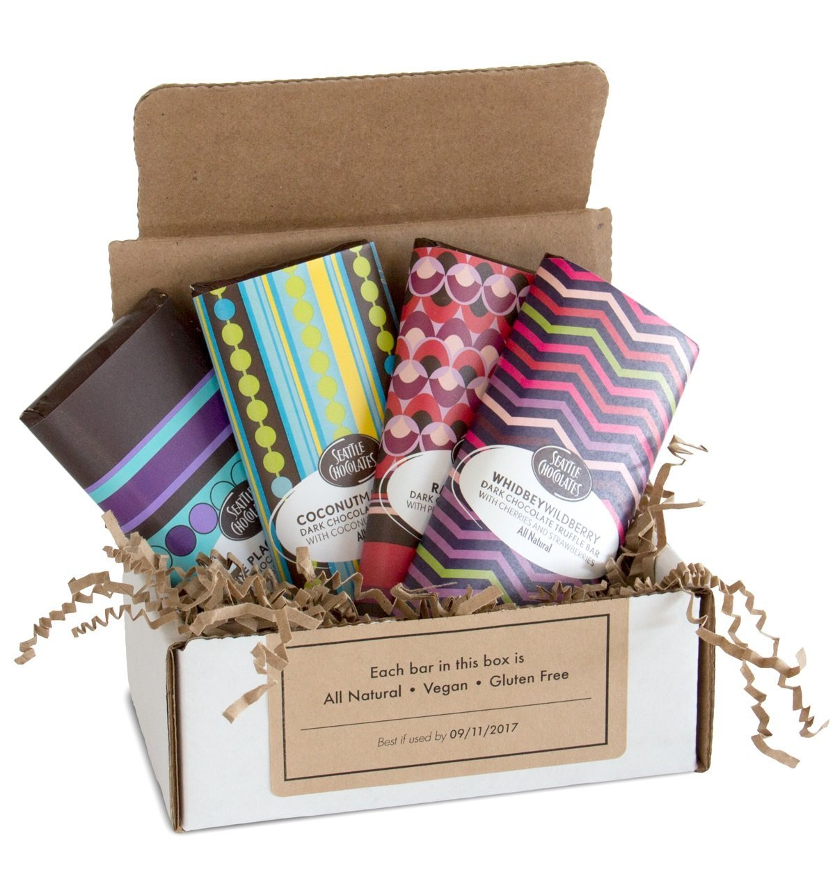 Amazon vegan gift box for dark chocolate and berry lovers amazon vegan gift box for dark chocolate and berry lovers gourmet chocolate truffle bar gift set all natural non gmo and gluten free bundle of 4 negle Gallery