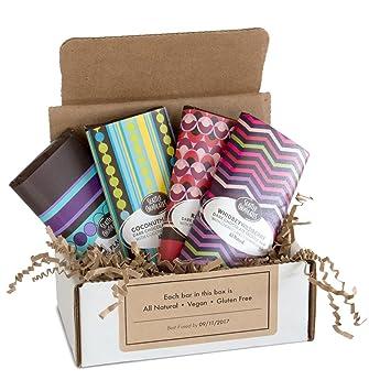Amazon vegan gift box for dark chocolate and berry lovers vegan gift box for dark chocolate and berry lovers gourmet chocolate truffle bar gift set negle Images