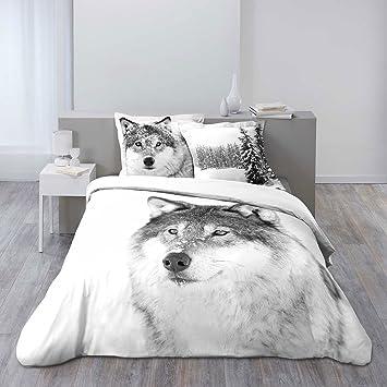 housse de couette animaux 220x240. Black Bedroom Furniture Sets. Home Design Ideas