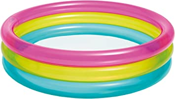 Intex 57104 - Piscina, Color Rosa, Amarillo y Azul: Amazon.es: Juguetes y juegos