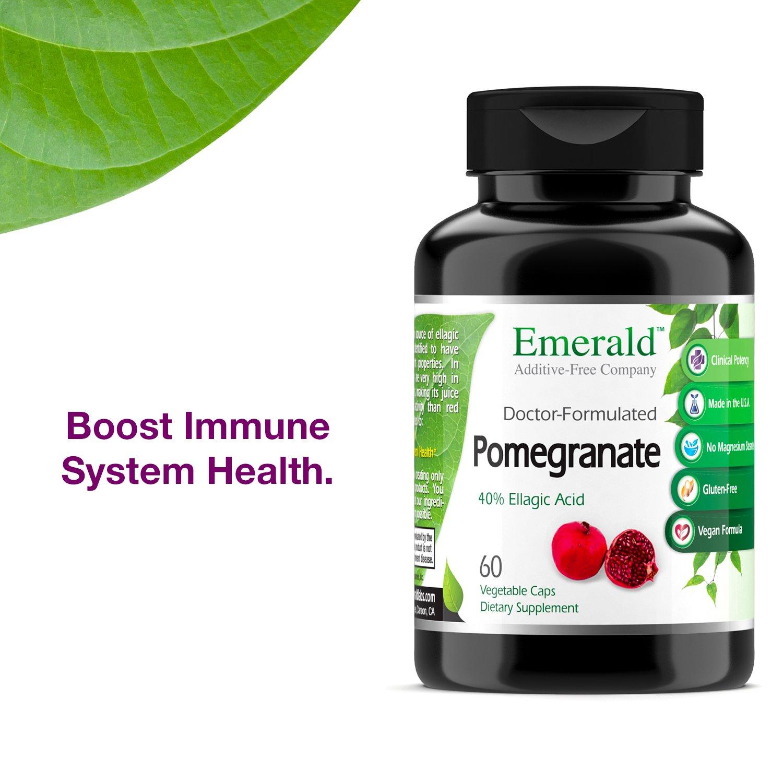 Amazon.com: EMERALD LABORATORIES Pomegranate, 60 CT: Health & Personal Care