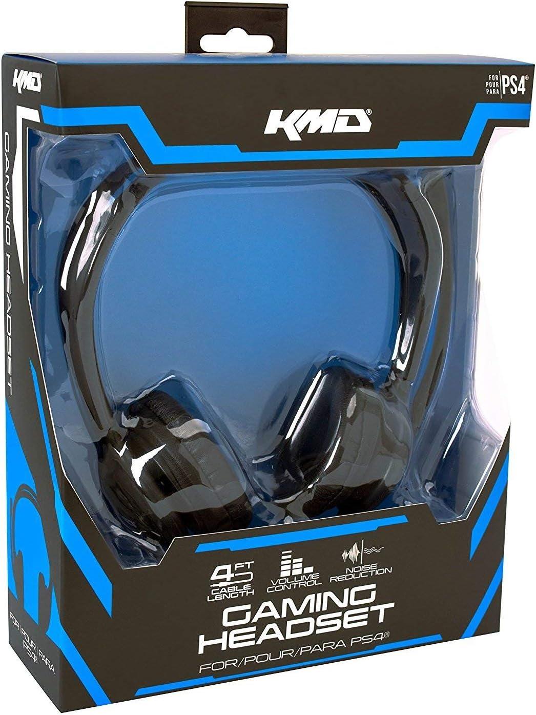 KMD Live Chat Headset for PlayStation 4 auriculares para móvil: Amazon.es: Videojuegos