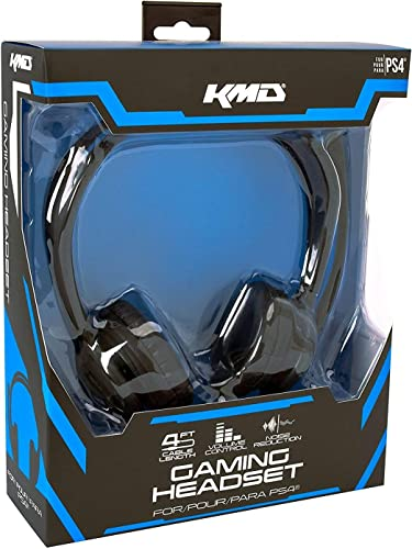 KMD Live Chat Headset for PlayStation 4 auriculares para móvil ...