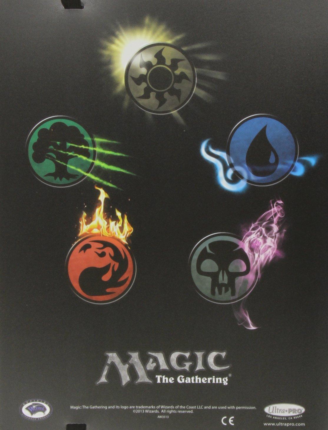Ultra Pro Magic Mana Symbols Pro Binder, Size 360