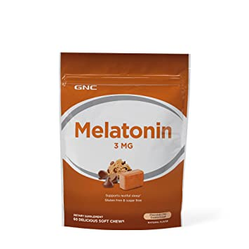 Image Unavailable. Image not available for. Color: GNC Melatonin 3mg ...