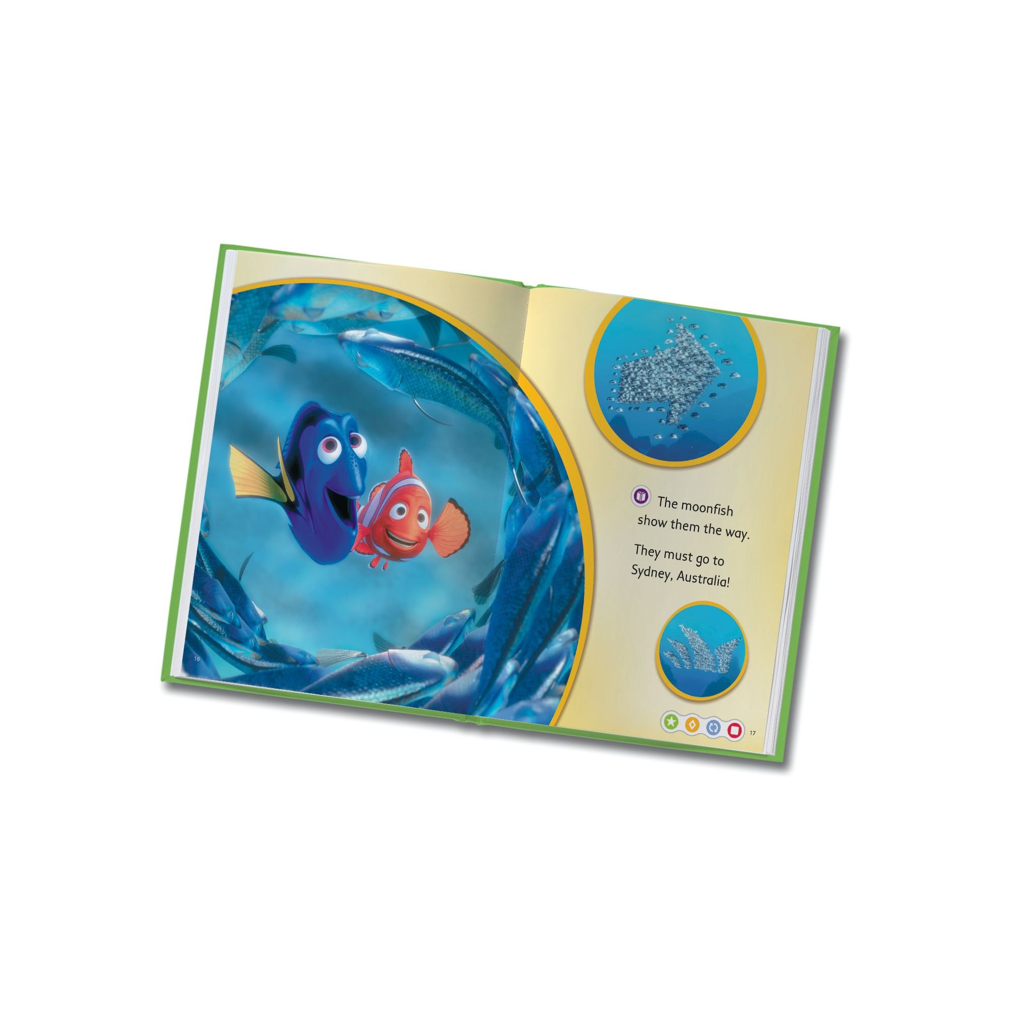 LeapFrog LeapReader Book: Disney·Pixar Finding Nemo, Lost and Found (works with Tag) by LeapFrog (Image #6)