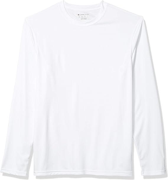 Champion Men's Long-Sleeve Double-Dry Performance T-Shirt