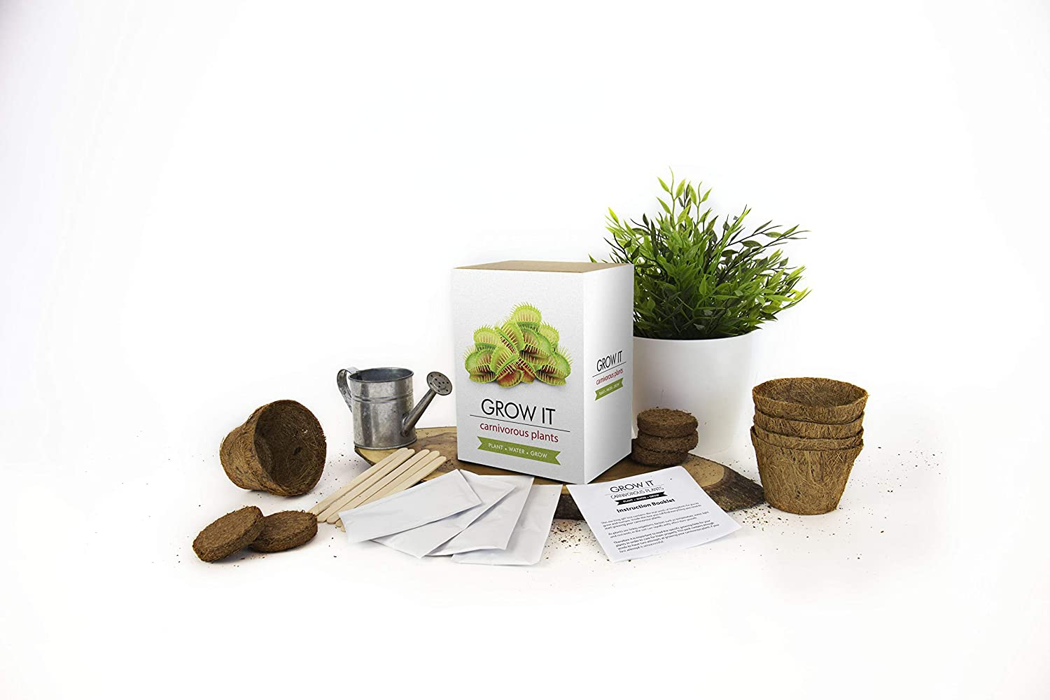 Gift Republic Grow Your Own Carnivorous Plants Grow It