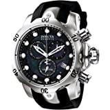 インヴィクタ Invicta Men's 6117 Reserve Collection Chronograph Black Rubber Watch [並行輸入品]