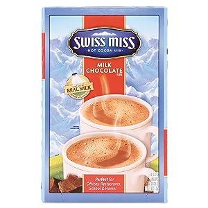 Swiss Miss 827773 Hot Cocoa Mix, Regular, 1.38 Ounce Packet, 50 Packets/Carton