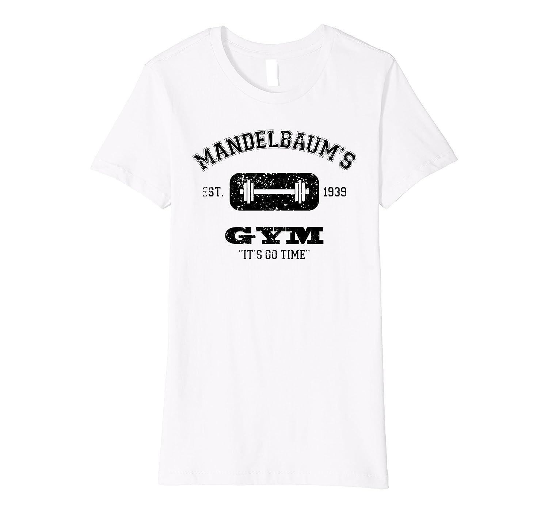 Mandelbaums Gym Its Go Time est 1939 Black Premium T-shirt