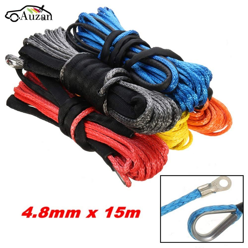 M-Egal Car Vehicle Nylon Tow Rope Hook Strap Nylon Tow Ropes Eye Strap Racing Tow Rope High Strength Tow Ropes red