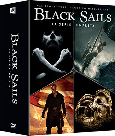 Black Sails s1 - s4  Exclusiva Amazon  (15 DVD)