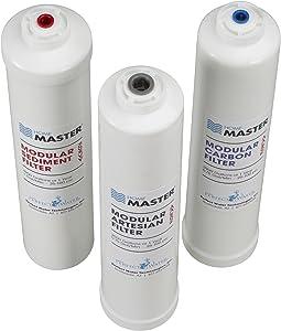 Home Master ISetTMA8 Artesian And HydroGardener Replacement Water Filter Change Set, White