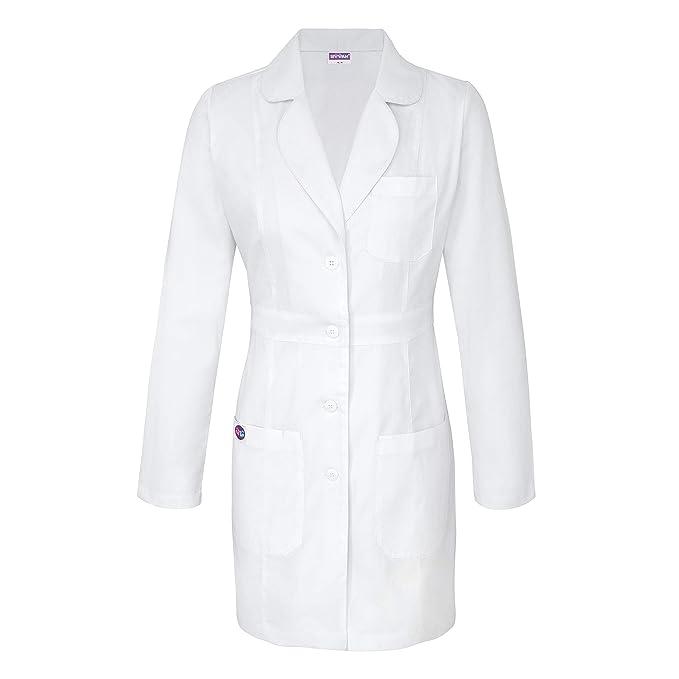 Amazon.com: Sivvan - Abrigo de laboratorio para mujer de 33 ...