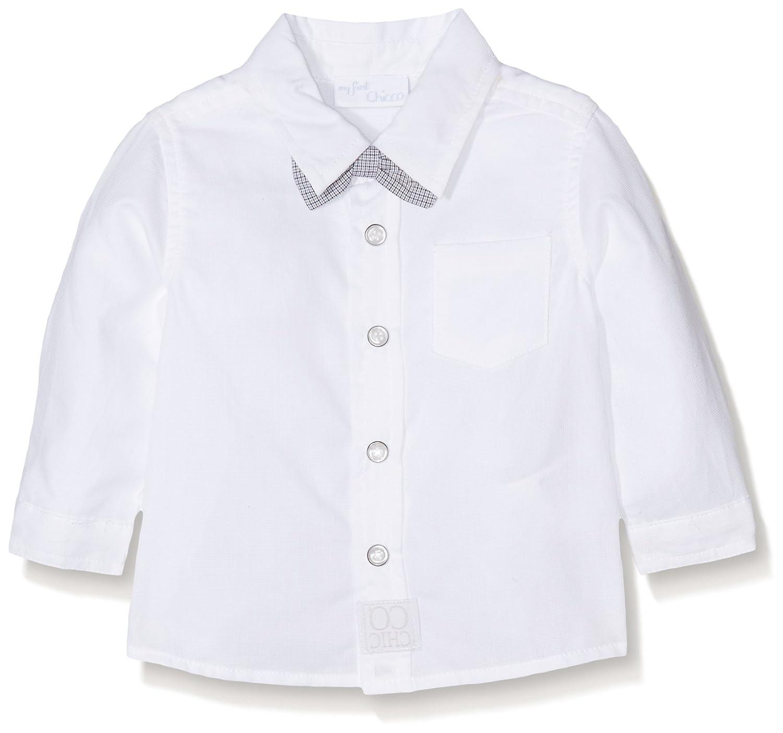 Chicco Baby-Jungen Hemd Weiß (White 033) 86 cm 09054326000000