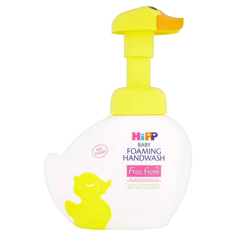 Hipp Organic Baby - Pato de espuma para lavado de manos, 250 ml HIPP UK LTD 90688
