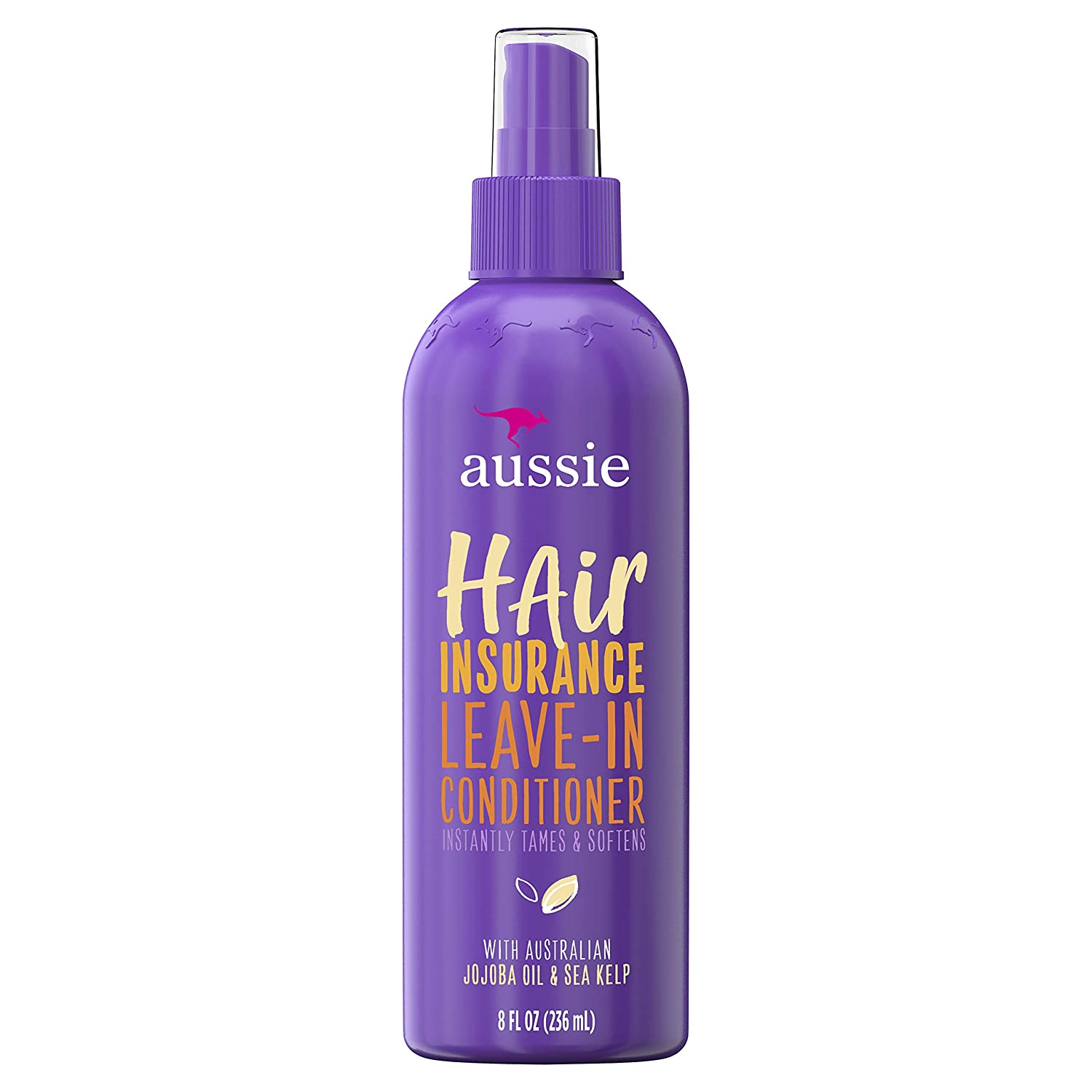 Aussie Conditioner Hair Insurance Leave-In Spray 8 Ounce (236ml)