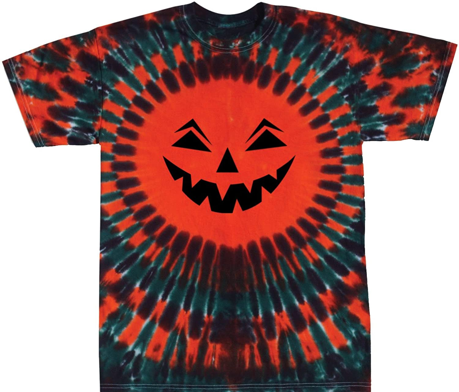 amazoncom tie dyed shop halloween jack o lantern t shirt small 5x shortlong sleeves clothing - Scary Halloween Shirts