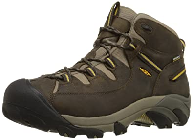 Amazon.com | KEEN Men's Targhee II Mid WP Hiking Boot | Hiking Boots