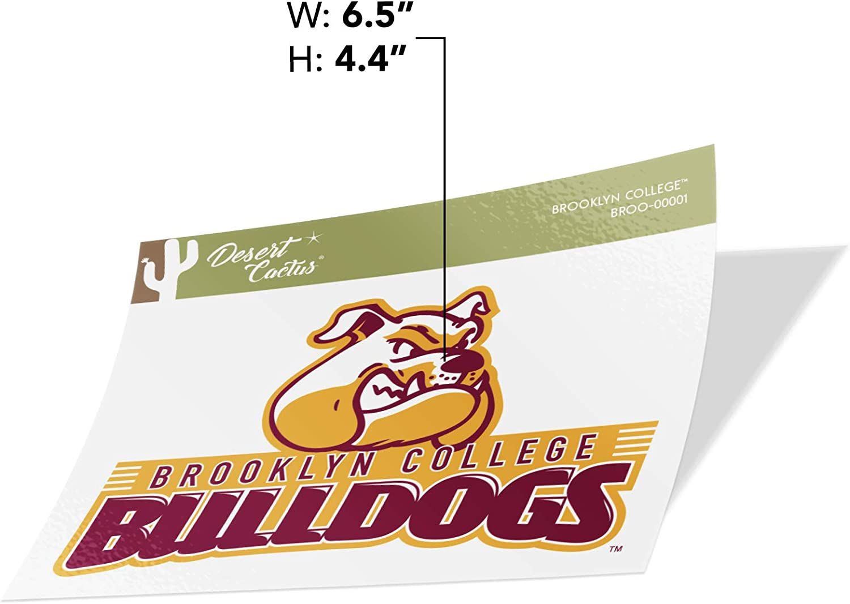 Sticker - 00001 Brooklyn College Bulldogs NCAA Vinyl Decal Laptop Water Bottle Car Scrapbook