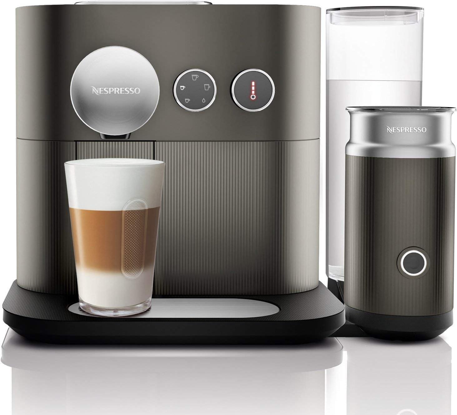 Nespresso DeLonghi Expert Milk EN355.GAE - Cafetera monodosis de ...