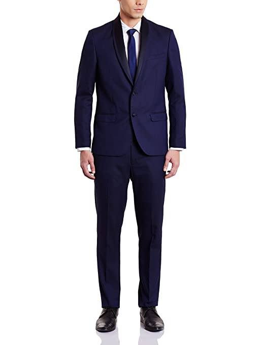 Arrow Men's Slim Fit Suit Men's Suits & Blazers at amazon