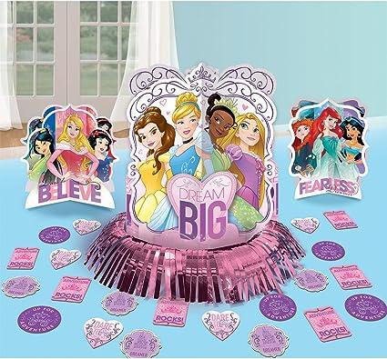Amazon.com: Disney Princess Sparkle Fiesta de cumpleaños ...