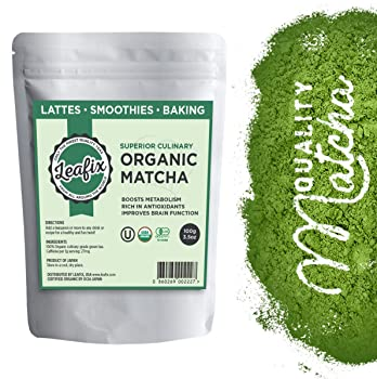 Leafix Matcha Green Tea Powder