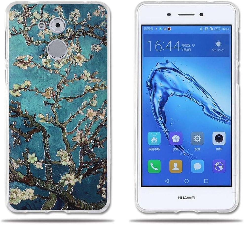 fubaoda Funda de para Huawei Honor 6C/Nova Smart/Enjoy 6s,Hermoso ...