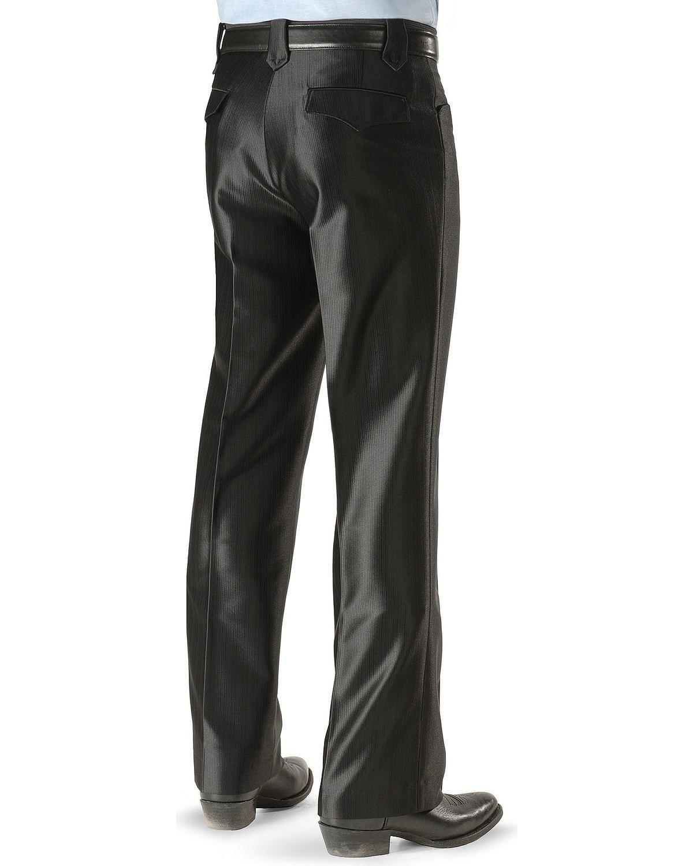 Circle S Men's Boise Western Suit Slacks Black 34