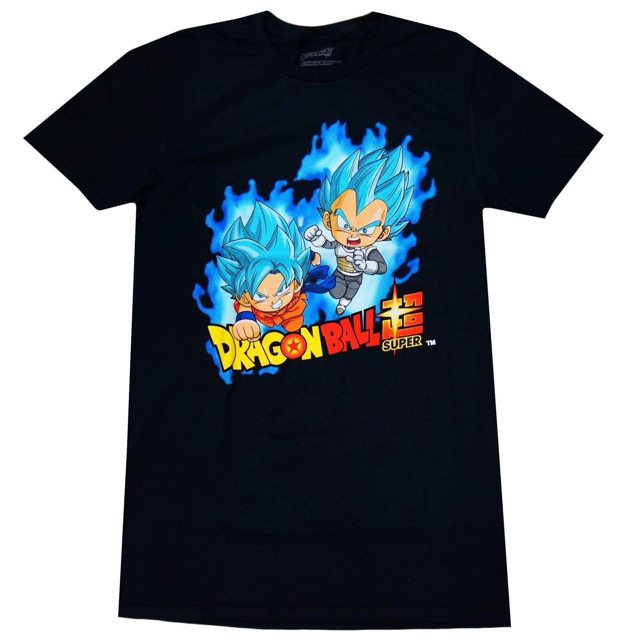 Dragon Ball Z Dragon Ball Super Sd Ssgss Super Saiyan Blue Goku Vegeta T Shirt 7338