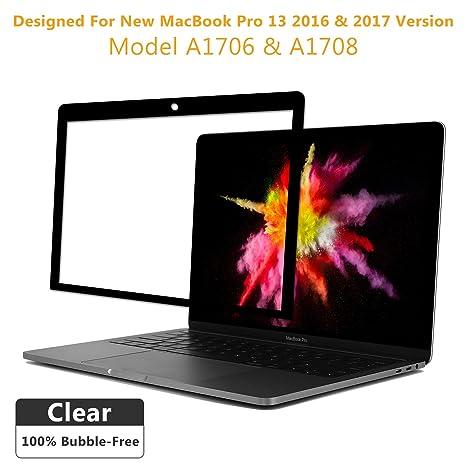 Bubble Free HD claro portátil Protector de pantalla, protector de pantalla para ordenador portátil nuevo MacBook ...