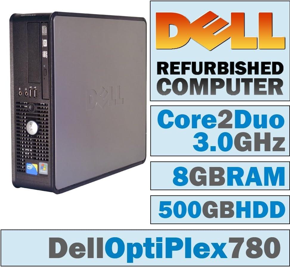 Dell OptiPlex 780 SFF/Core 2 Duo E8400 @ 3.00 GHz/8GB DDR3/500GB HDD/DVD-RW/Windows 7 PRO 64 BIT