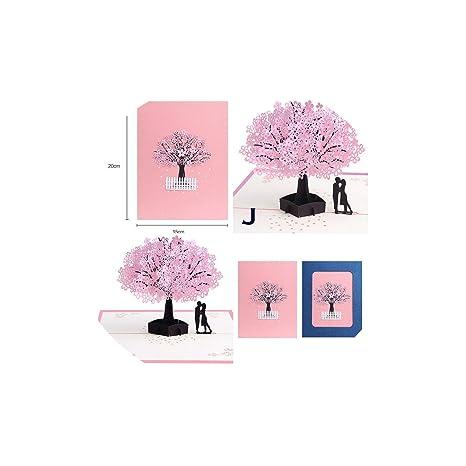 Amazon.com: Tarjeta de felicitación, 3D, tarjeta de ...