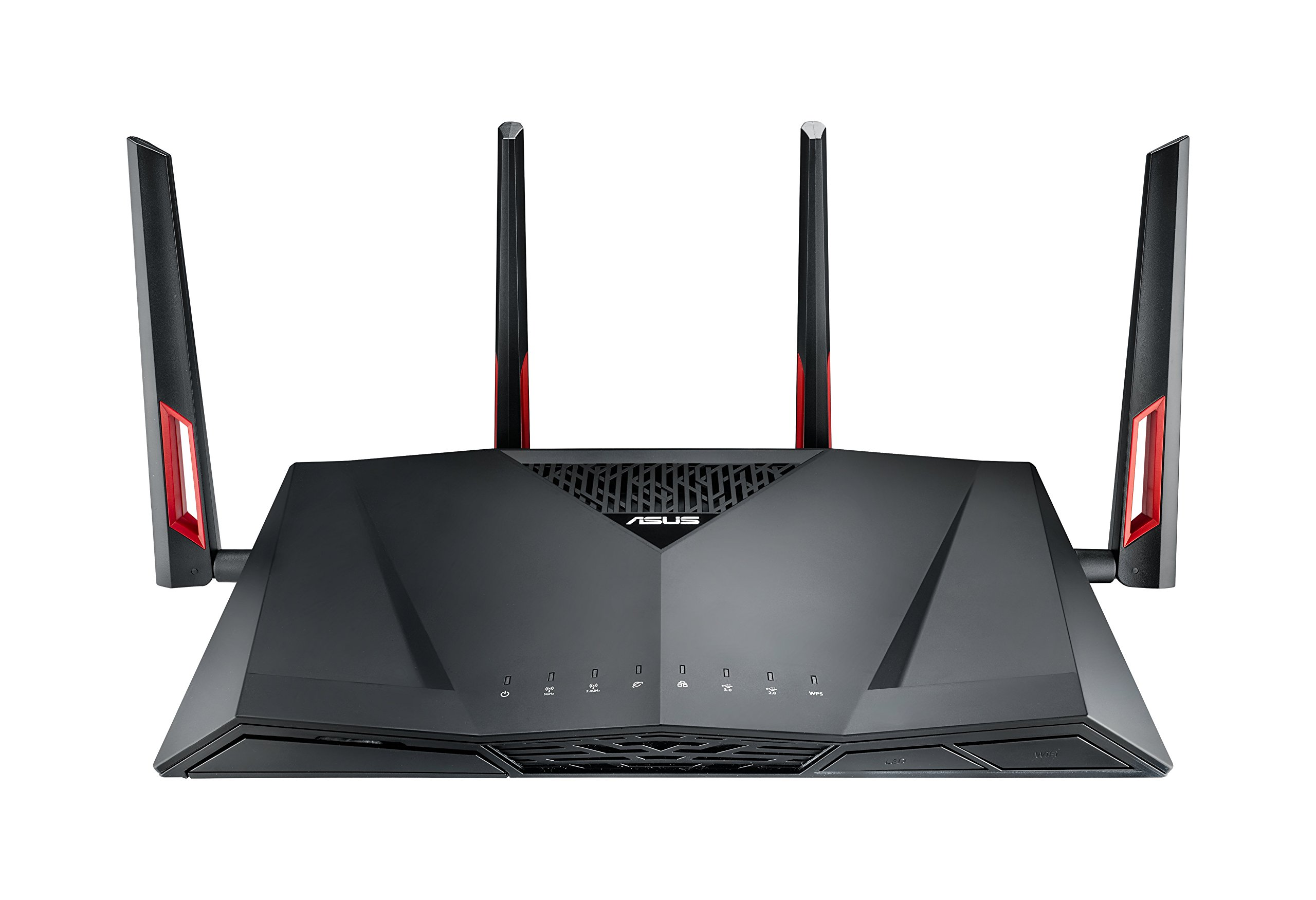 ASUS RT-AC88U Wireless-AC3100 Dual Band Gigabit Router, AiProtection with Trend Micro for Complete Network Security by Asus